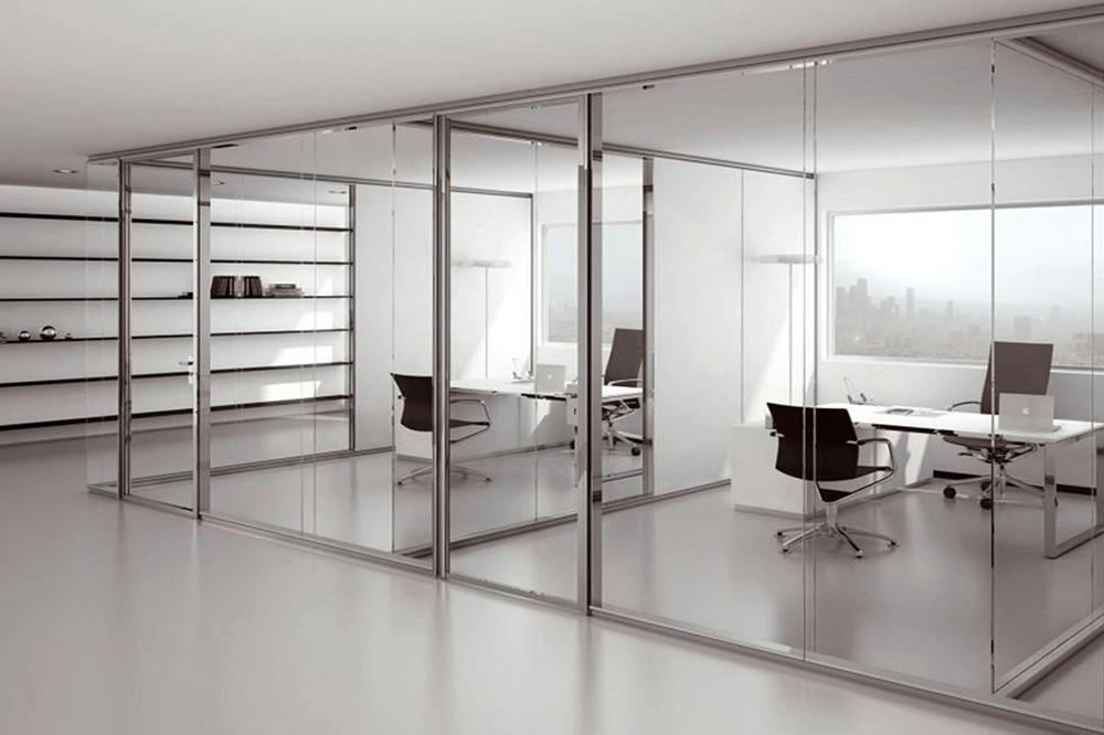 Пять вариантов использования офисных перегородок