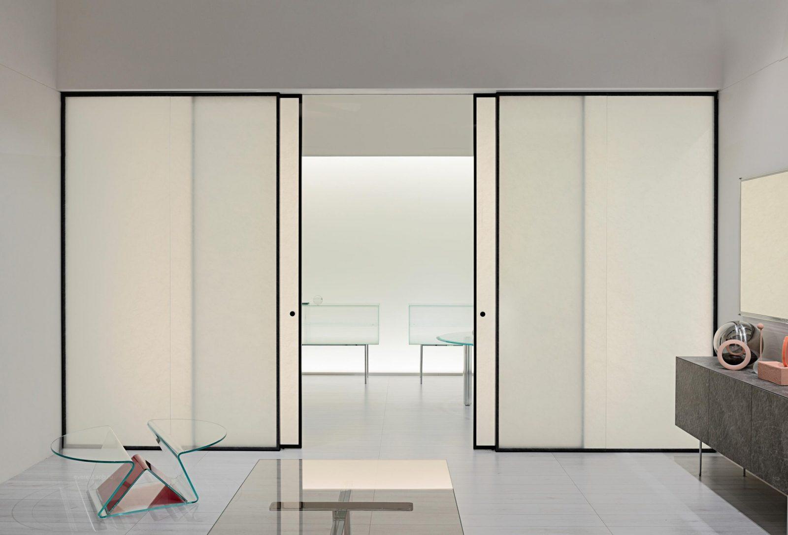 Раздвижные (откатные) офисные двери
